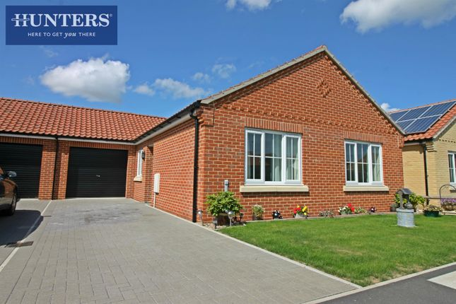 Thumbnail Bungalow for sale in Alder Avenue, Martham, Great Yarmouth