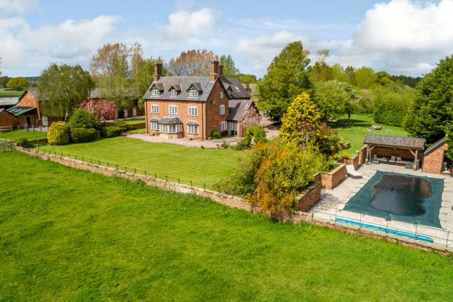 Thumbnail Detached house for sale in Townsgreen, Wettenhall, Cheshire
