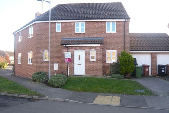 Thumbnail Detached house to rent in Stone Close, Watlington, King's Lynn