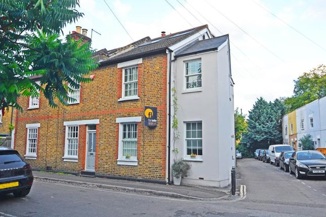 Thumbnail End terrace house for sale in School House Lane, Teddington