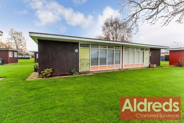 Front of Broadside Chalet Park, Norwich NR12