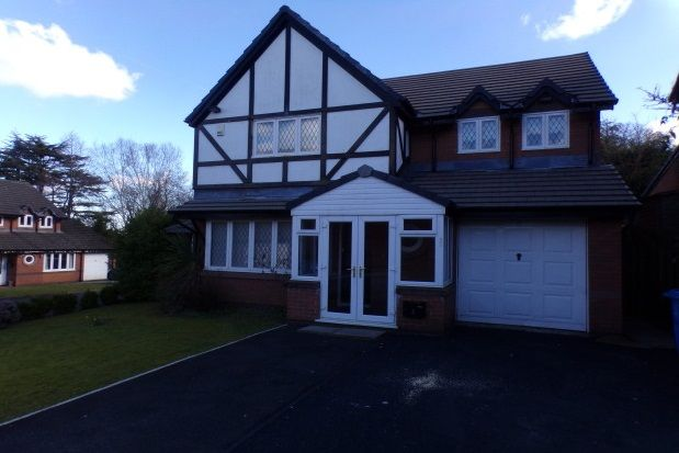 Thumbnail Detached house to rent in Meadow Oak Drive, Woolton, Liverpool
