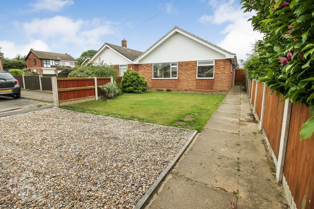 Thumbnail Detached bungalow for sale in St. Annes Way, Belton, Great Yarmouth