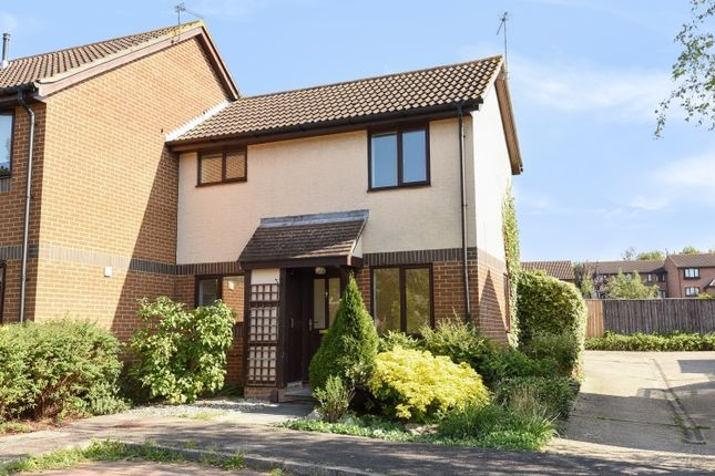 Thumbnail End terrace house to rent in Eldridge Close, Abingdon