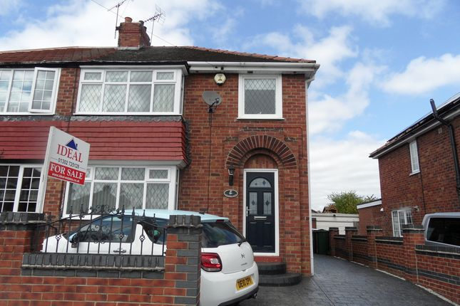 Thumbnail Semi-detached house for sale in Scawthorpe Avenue, Scawthorpe Doncaster