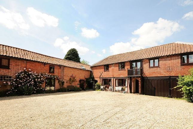 Thumbnail Barn conversion for sale in The Green, East Rudham, King's Lynn
