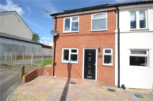 Thumbnail End terrace house for sale in Gordon Road, Farnborough, Hampshire