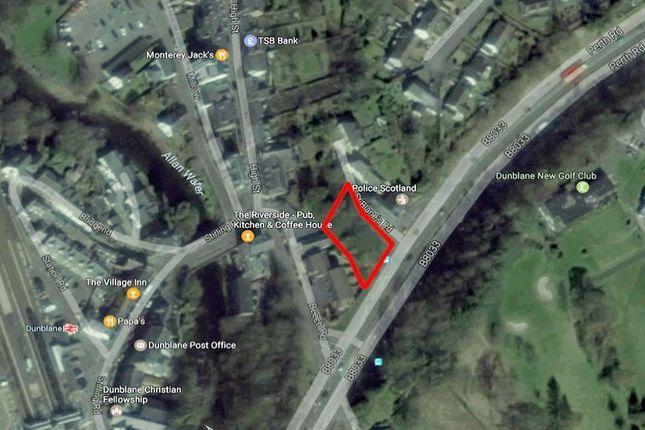 Thumbnail Land for sale in Land Off St Blanes Road, Dunblane FK150La