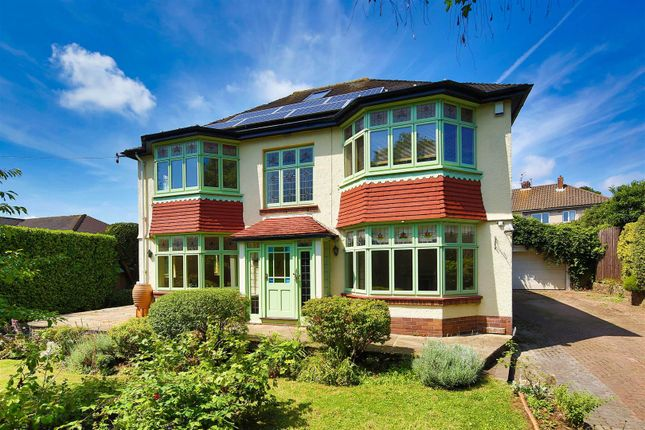 Thumbnail Detached house for sale in Ely Road, Llandaff, Cardiff
