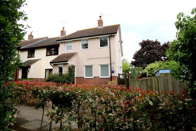 Thumbnail End terrace house for sale in Godfrey Way, Dunmow, Essex