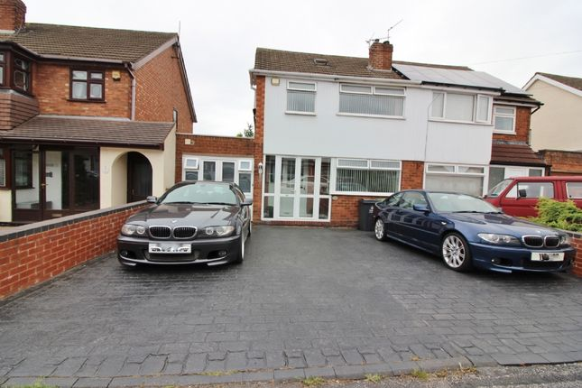 3 bed semi-detached house for sale in Buckingham Drive, Willenhall WV12