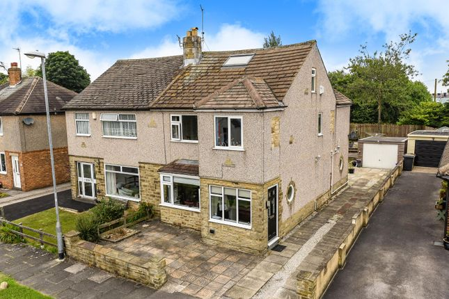 Thumbnail Semi-detached house for sale in Plane Tree Grove, Yeadon, Leeds