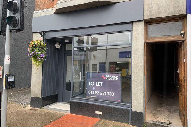 Thumbnail Retail premises to let in 51 Portland Street, Troon