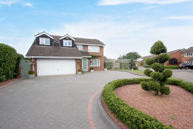 Thumbnail Detached house for sale in Whitefield Close, Westwood Heath, Coventry