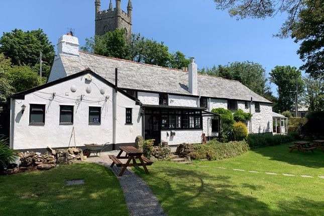 Thumbnail Pub/bar for sale in Lanlivery, Bodmin