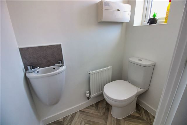 Downstairs WC of Hurricane Avenue, Woodhouse, Sheffield S13