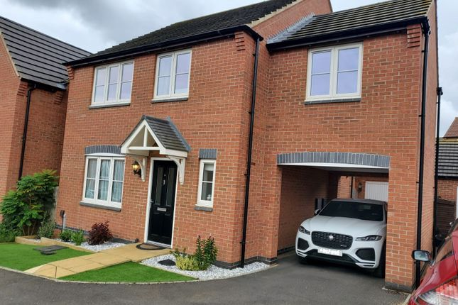 Thumbnail Detached house for sale in Scarborough Close, Grantham