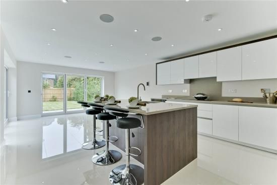 Thumbnail Detached house for sale in Hanger Hill, Weybridge, Surrey