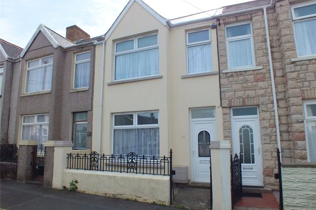 Thumbnail Terraced house to rent in Shakespeare Avenue, Milford Haven, Pembrokeshire