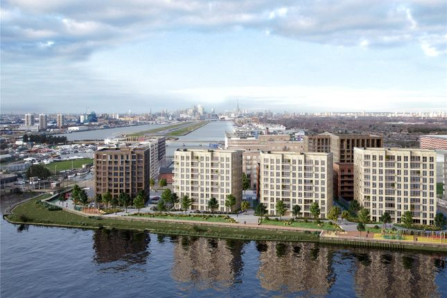 Thumbnail Flat for sale in Royal Albert Wharf, Docklands, London