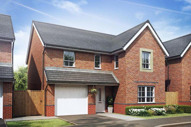 "Thumbnail Detached house for sale in ""Hale"" at Llantarnam Road, Llantarnam, Cwmbran"