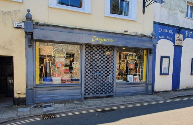 Thumbnail Retail premises for sale in High Street, Caerleon, Newport