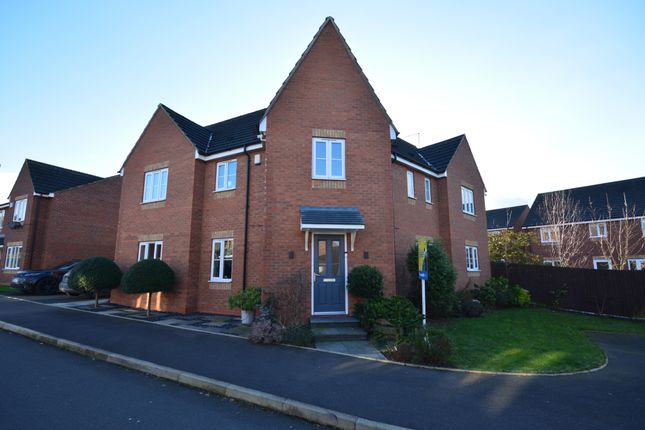 Thumbnail Detached house for sale in Railway Close, Pipe Gate, Market Drayton