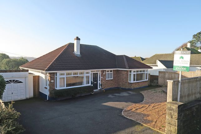 Thumbnail Detached bungalow for sale in Springfield Road, Plymstock, Plymouth, Devon