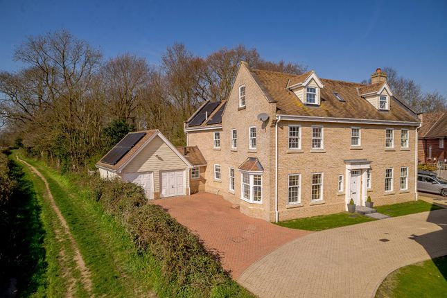 Thumbnail Detached house for sale in Jubilee Meadow, Eight Ash Green, Colchester