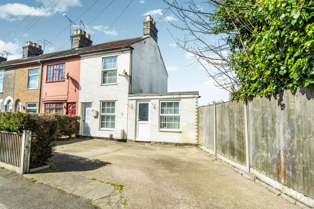 Thumbnail End terrace house for sale in Back Chapel Lane, Gorleston, Great Yarmouth