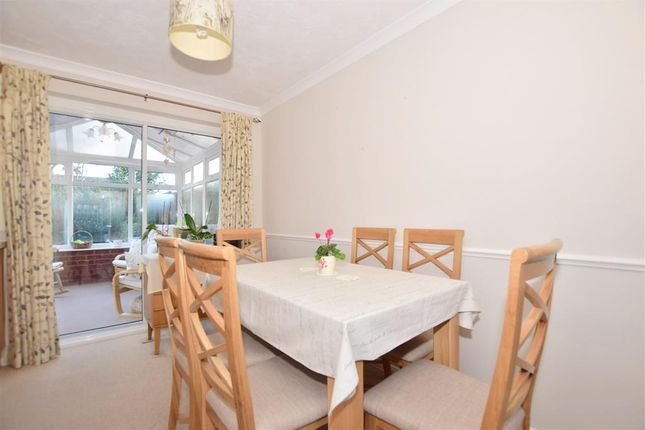 Thumbnail Semi-detached house for sale in Bamborough Close, Southwater, Horsham, West Sussex