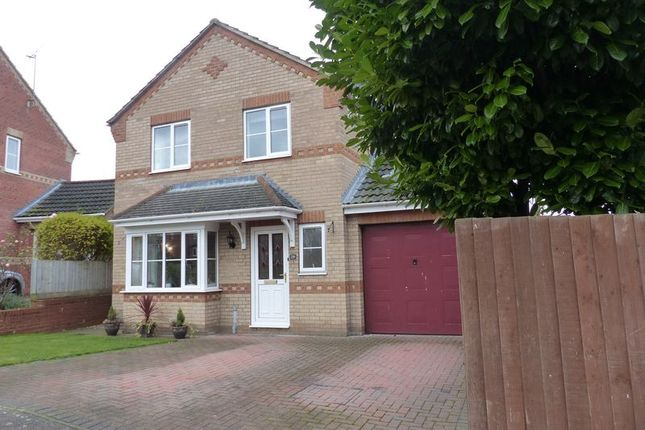 Thumbnail Detached house for sale in Woodside, Branston