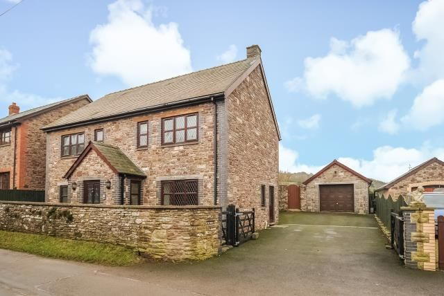 Thumbnail Detached house for sale in Hay On Wye 5 Miles, Felindre