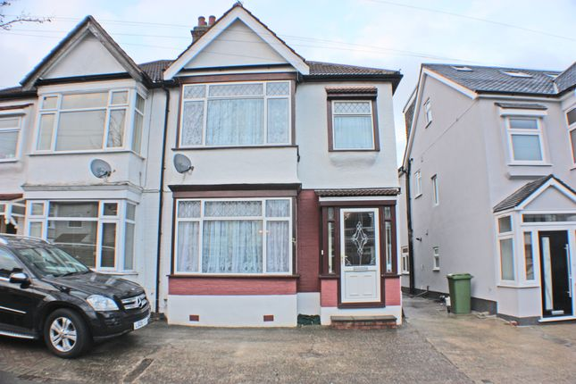 Thumbnail Semi-detached house for sale in Bute Road, Gants Hill