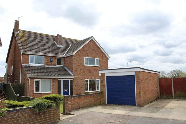 Thumbnail Detached house for sale in Broom Gardens, Belton, Great Yarmouth