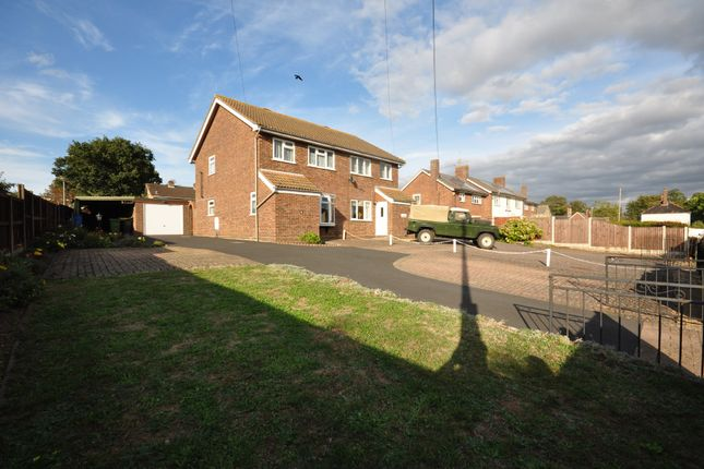 Thumbnail Semi-detached house for sale in Stanley Road, Roydon, Diss