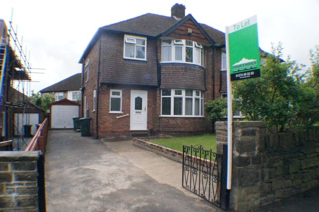 Thumbnail Semi-detached house to rent in Allerton Road, Bradford
