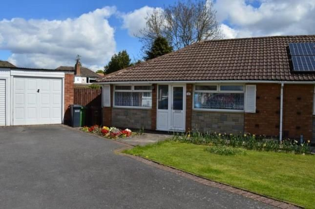 Thumbnail Bungalow for sale in Bronte Close, Shirley, Solihull, West Midlands
