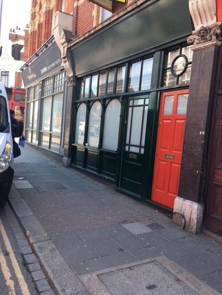 Thumbnail Retail premises for sale in High Street, Acton