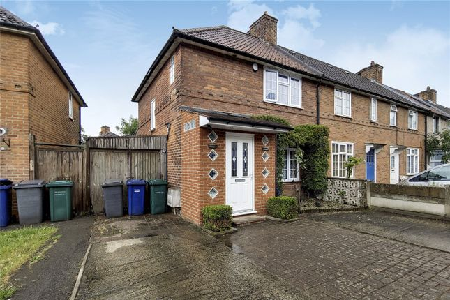 Thumbnail End terrace house for sale in Deansbrook Road, Edgware