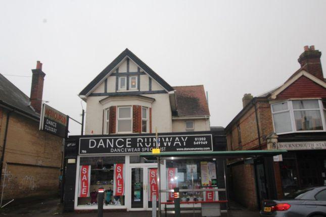 Thumbnail Maisonette for sale in Wimborne Road, Moordown, Bournemouth