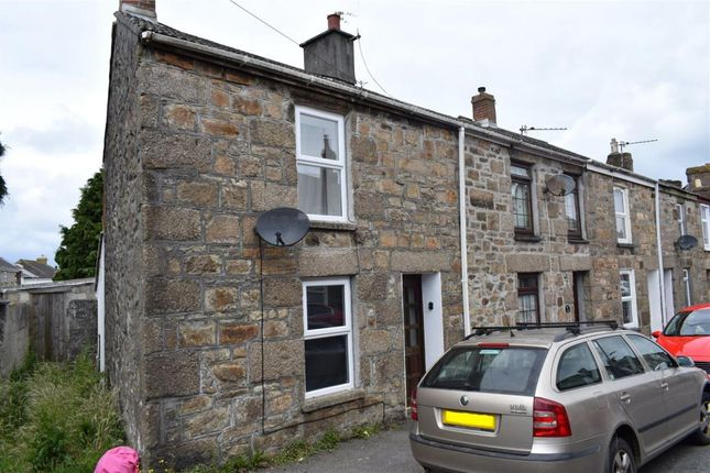 Thumbnail End terrace house for sale in Adelaide Street, Camborne, Cornwall