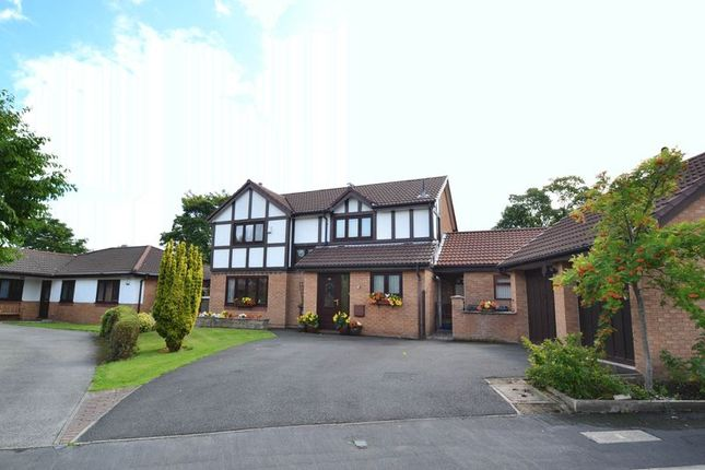 Thumbnail Detached house for sale in Abbot Meadow, Penwortham, Preston