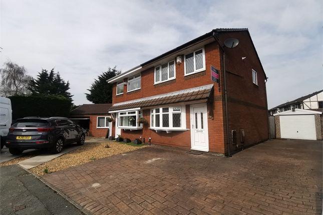Thumbnail Semi-detached house to rent in Aldford Grove, Bradley Fold, Bolton, Lancashire