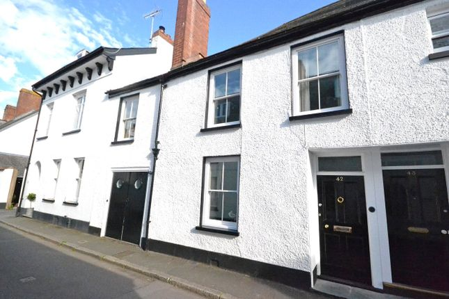 Thumbnail Terraced house for sale in Monmouth Street, Topsham, Exeter