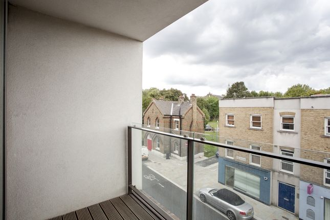 Balcony of Wingate Square, London SW4