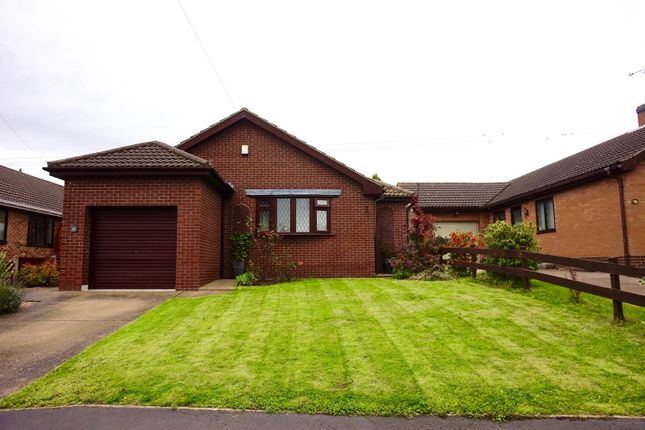 Thumbnail Detached bungalow for sale in Barlings Close, Gainsborough