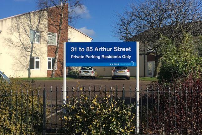 Thumbnail Flat to rent in Arthur Street, Arthur Street, Castle Gresley, Swadlincote