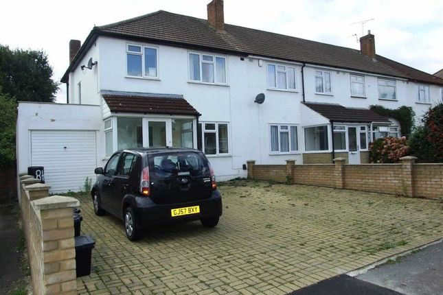 Thumbnail End terrace house to rent in Charnwood Drive, London
