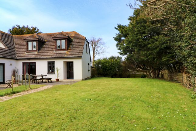 Thumbnail Semi-detached house for sale in Towan, Near Constantine Bay